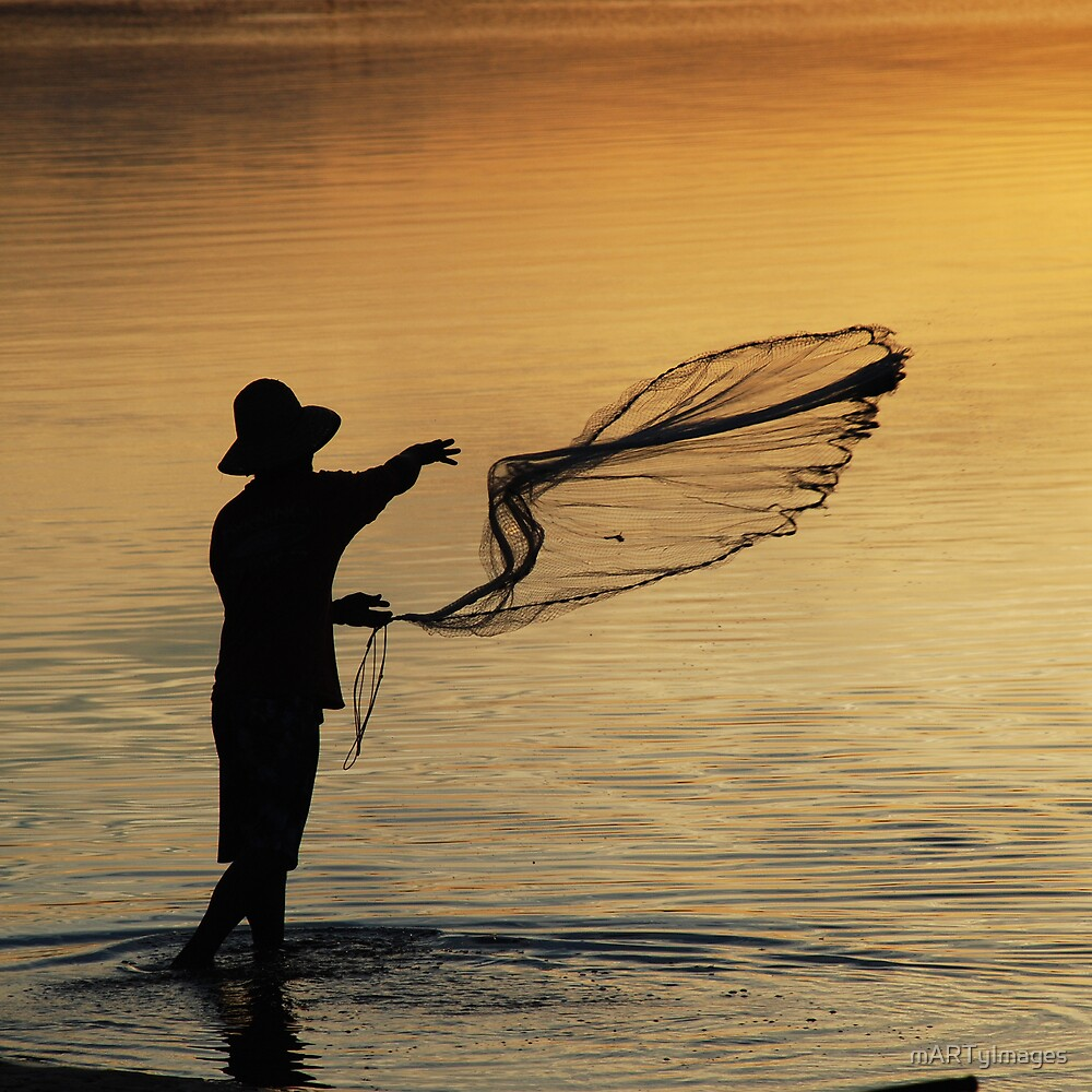 The Fisherman by mARTyImages