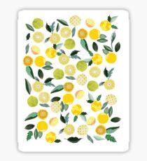 Lemon Zest Sticker