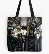 """""""A mile and a half on a bus takes a long time"""" (P1140285 _XnView) Tote Bag"""