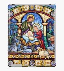 Stained Glass Nativity iPad Case/Skin