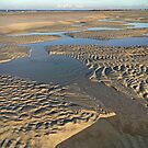 Beach Inlet Low Tide Pools Photography by ClarasDesk