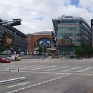 Dallas Downtown - Victory Park - Olive and N. Houston - American Airlines Center by seymourpics