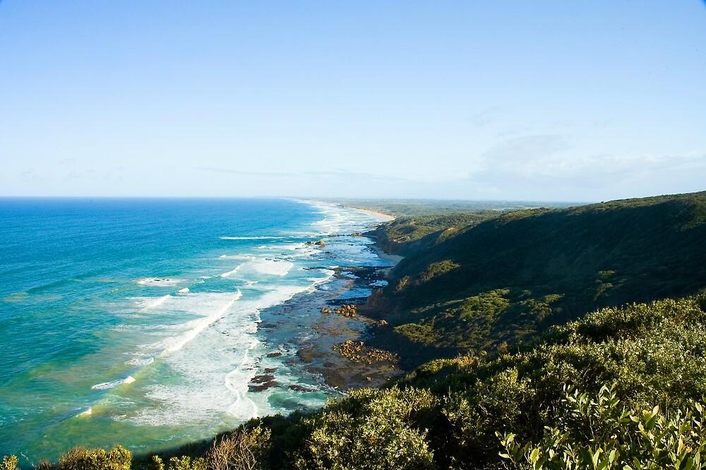 Gunnamatta Bay, Mornington Peninsula. by Roger Olasiman