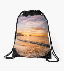 Freshwater Bay Sunrise Drawstring Bag