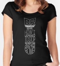 Dr. Strangelove - Doctor Strangelove - Kubrick Women's Fitted Scoop T-Shirt