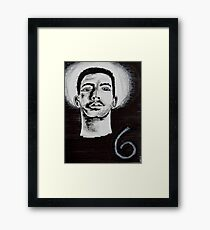 The Six God, Drake Framed Print