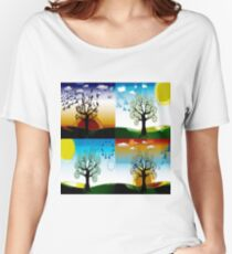 4 SEASONS Women's Relaxed Fit T-Shirt