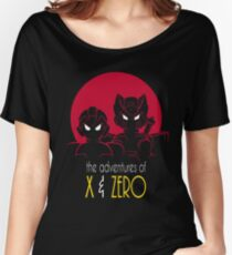 The Adventures of X & Zero Women's Relaxed Fit T-Shirt