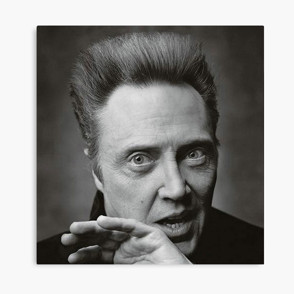 OBAMA HOPE CHRISTOPHER WALKEN ART PHOTO PRINT POSTER GIFT
