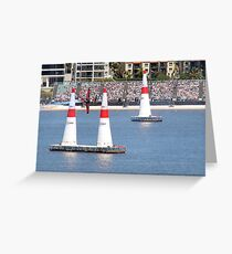 Red Bull Air Race Perth  Greeting Card