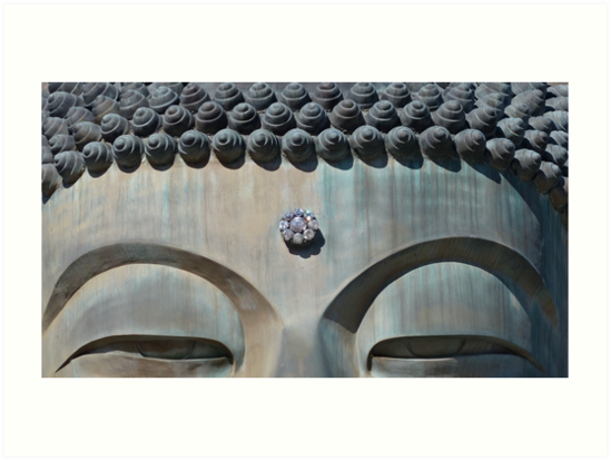The great Buddha of Seoraksan by Peter Zentjens