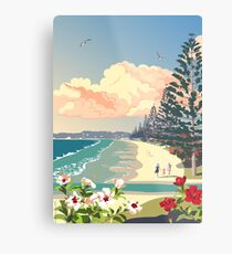 Orewa Beach, New Zealand Metal Print