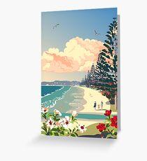 Orewa Beach, New Zealand Greeting Card