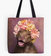 Flowerpower, Topas Tote Bag
