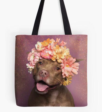 Flower Power, Topaz Tote Bag