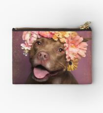 Flower Power, Topaz Studio Pouch