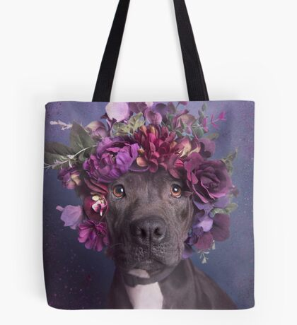 Flower Power, Aria Tote Bag