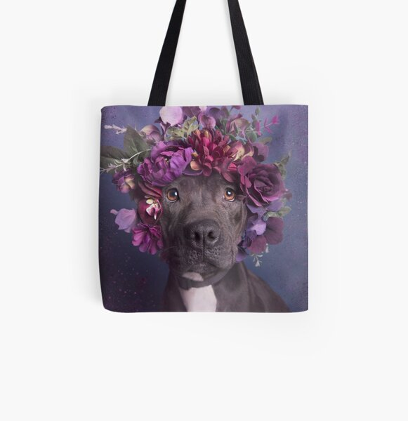 Flower Power, Aria All Over Print Tote Bag