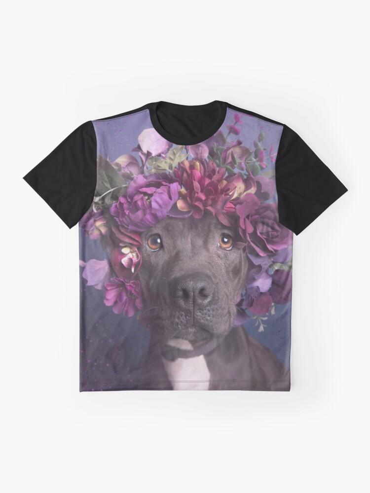 Alternative Ansicht von Flower Power, Arie Grafik T-Shirt