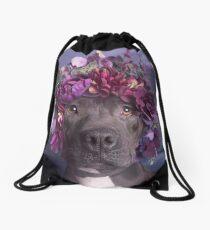 Flower Power, Aria Drawstring Bag
