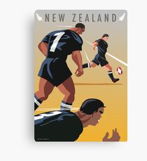 Kickoff  Rugby New Zealand Canvas Print