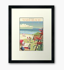 Waihi Beach, New Zealand Framed Print