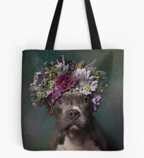 Flower Power, Tater Tot Tote Bag