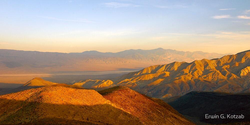 Death Valley Sunset by Erwin G. Kotzab