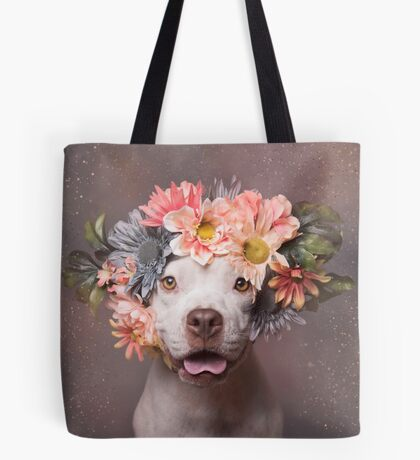 Flower Power, Ivy Tote Bag