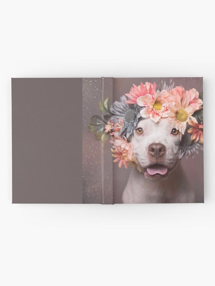 Vista alternativa de Cuaderno de tapa dura Flower Power, Ivy