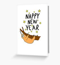 Nappy New year Greeting Card