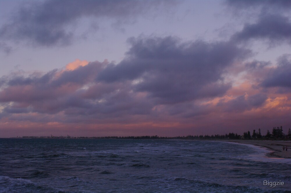 Twilight towards Port Adelaide by Biggzie