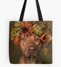 Flower Power, Finn Tote Bag