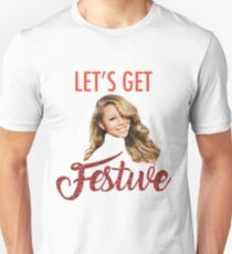 Get Festive with Mariah T-Shirt