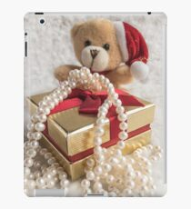 Little Teddy with a gift iPad Case/Skin