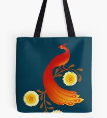 Folklore Firebird Tote Bag