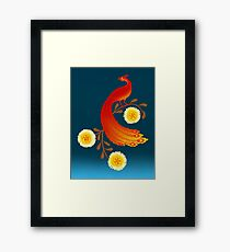 Folklore Firebird Framed Print