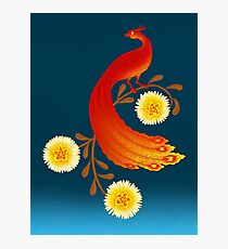 Folklore Firebird Photographic Print