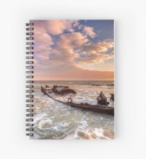 Shipwreck SS Carbon Spiral Notebook
