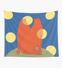 Wonder Cats Wall Tapestry