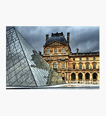The Louvre Photographic Print