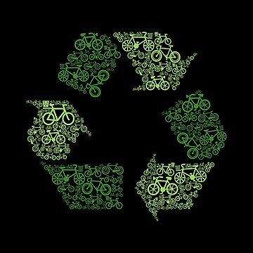 Green Recycling - Bicycles by Skullz23