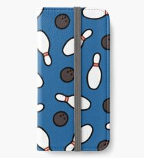 Bowling for Pins Pattern iPhone Wallet/Case/Skin