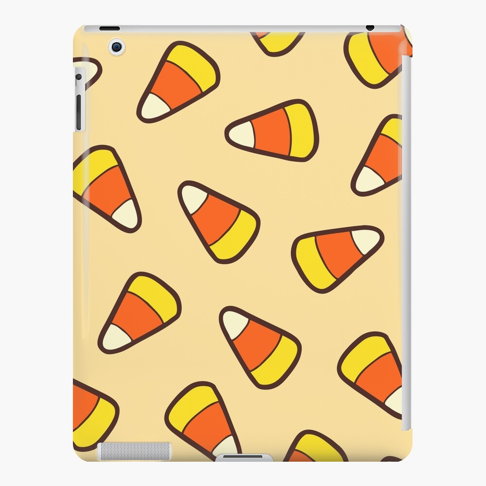 Candy Corn Pattern iPad Snap Case