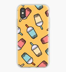 Bubble Tea Pattern iPhone Case