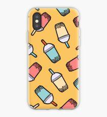 Bubble Tea Pattern iPhone Case