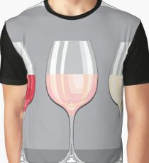Wine Flavors Graphic T-Shirt
