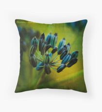 fennel. Throw Pillow