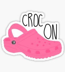 Croc On Sticker