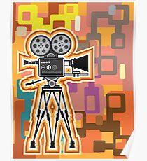 Abstract Camera Poster